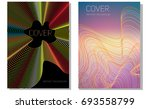 abstract background design with ... | Shutterstock .eps vector #693558799