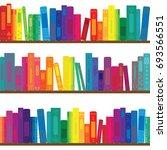 vector illustration of books...   Shutterstock .eps vector #693566551