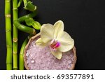 Spa Products With Orchids