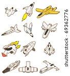adorable,industria aeroespacial,avión,avión,arte,astronauta,astronáutica,dibujos animados,carácter,colección,color,comic,lindo,dibujar,motor