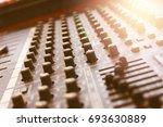 audio control | Shutterstock . vector #693630889