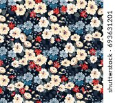 elegant gentle trendy pattern... | Shutterstock .eps vector #693631201