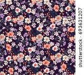 elegant gentle trendy pattern... | Shutterstock .eps vector #693631207