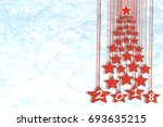 greeting card or wallpaper for... | Shutterstock . vector #693635215