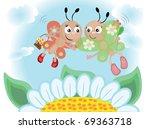 butterflies | Shutterstock .eps vector #69363718