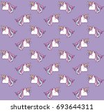 magical unicorns design  | Shutterstock .eps vector #693644311