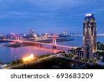 city night | Shutterstock . vector #693683209