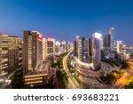 city night | Shutterstock . vector #693683221