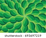 abstract green leaf background. ... | Shutterstock .eps vector #693697219