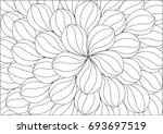 abstract white leaf background | Shutterstock .eps vector #693697519