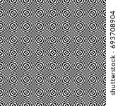 seamless pattern with black... | Shutterstock .eps vector #693708904