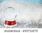 holiday christmas background... | Shutterstock . vector #693713275
