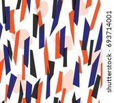modern seamless pattern design... | Shutterstock .eps vector #693714001