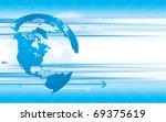 vector illustration  all... | Shutterstock .eps vector #69375619