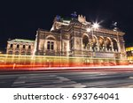 famous state opera in vienna... | Shutterstock . vector #693764041