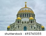 Small photo of Naval cathedral of St. Nicholas the Wonderworker (Nikolsky Stauropegic Naval Cathedral) is the largest of the sea cathedrals of the Russian Empire. It was erected in 1903-1913 iIn Kronstadt.