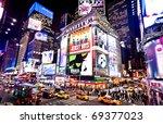 new york   january 6 ... | Shutterstock . vector #69377023