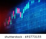 financial charts and graphs... | Shutterstock . vector #693773155