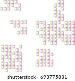 rainbow squares colorful... | Shutterstock .eps vector #693775831
