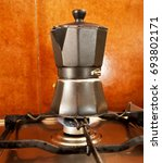 italian coffee maker | Shutterstock . vector #693802171