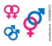 gender inequality and equality...   Shutterstock .eps vector #693808315