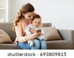 family  technology and... | Shutterstock . vector #693809815