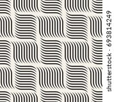 seamless pattern with geometric ...   Shutterstock .eps vector #693814249