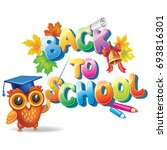 back to school  | Shutterstock .eps vector #693816301