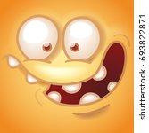 funny smiley face   Shutterstock .eps vector #693822871