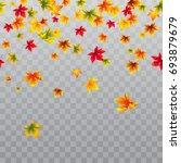 vector seamless horizontal... | Shutterstock .eps vector #693879679