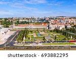 monastery of jeronimos in... | Shutterstock . vector #693882295