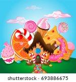 vector illustration of a...   Shutterstock .eps vector #693886675