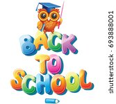 back to school  | Shutterstock .eps vector #693888001