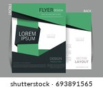 vector business flyer  magazine ... | Shutterstock .eps vector #693891565