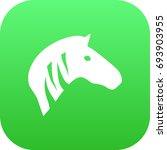 isolated zebra icon symbol on... | Shutterstock .eps vector #693903955