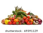 photo of a large group of fruit ... | Shutterstock . vector #69391129