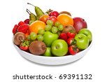 Photo Of A Bowl Of Fresh Fruit...