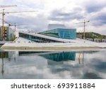 oslo opera house  norway    Shutterstock . vector #693911884