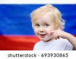 portrait of cute little boy...   Shutterstock . vector #693930865