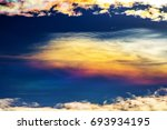 sky beautiful colorful clouds... | Shutterstock . vector #693934195