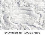 white quartz sand as background | Shutterstock . vector #693937891