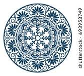 mandala icon image | Shutterstock .eps vector #693953749
