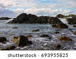 Rocky Seashore At Port...
