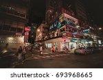 aug 10  2017   tsim sha tsui ...   Shutterstock . vector #693968665