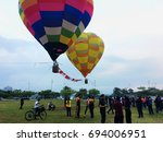 putrajaya  malaysia   august 11 ... | Shutterstock . vector #694006951