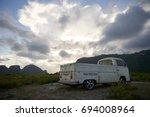 sam roi yot  prachuab khiri... | Shutterstock . vector #694008964