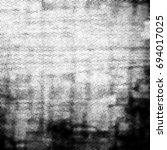 grunge halftone black and white.... | Shutterstock . vector #694017025