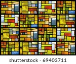 Stained Glass Window Pattern I...