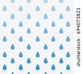 rain drop pattern graphic... | Shutterstock .eps vector #694073821