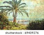 Vintage Postcard. Tropical...